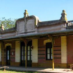 La antigua estación de ferrocarril de Altamira, hoy convertida en centro cultural.