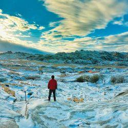En La Cumbrecita suele nevar una vez por año.