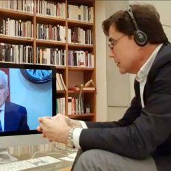 Jorge Fontevecchia en entrevista con Alberto Cormillot.