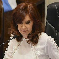La vicepresidenta Cristina Fernández de Kirchner.