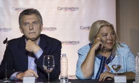 Mauricio Macri Elisa Carrió