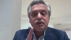 Alberto Fernández en entrevista en C5N 20210517