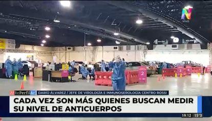 Cada vez más argentinos buscan medir su nivel de anticuerpos