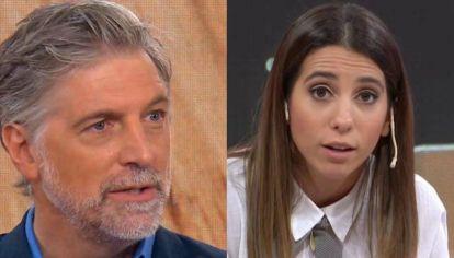 """Feroz cruce entre Cinthia Fernández y Horacio Cabak: """"Todavía estoy buscando tus huevos"""""""