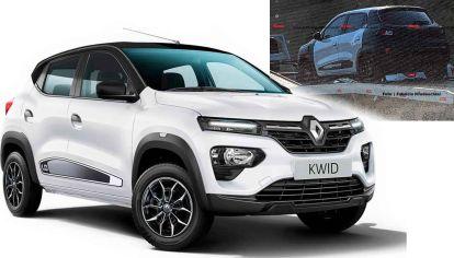 El nuevo Renault Kwid (restyling) aparece en la región, ¿cómo será?