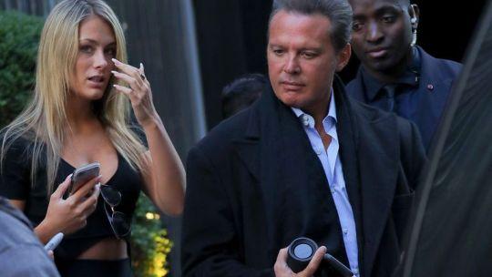 Luis Miguel y Mollie Gould separados en medio de rumores de infidelidad