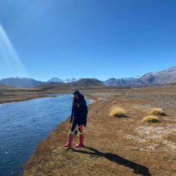Mendoza está posicionándose como un destino de pesca para los más exquisitos pescadores.