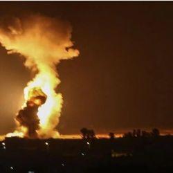 Israel ataca instalaciones de Hamás en Gaza.