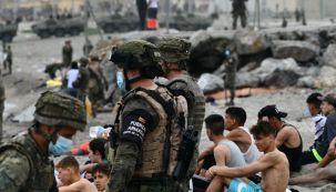 El Ejército español devuelve en caliente a los migrantes que han entrado por Ceuta 20210518