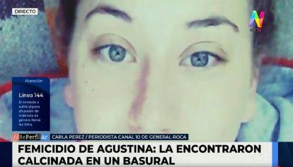 Femicidio de Agostina en Neuquén
