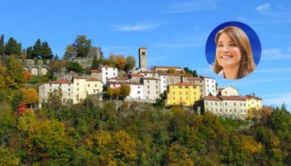 La actriz Lorraine Bracco contó cómo fue experiencia de comprar una casa por un euro, en Sambuca di Sicilia (Italia).