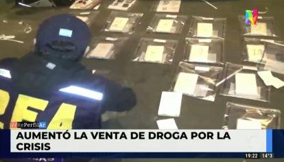 Aumentó la venta de drogas