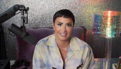 """Demi presentó su podcast 4D, una suerte de """"cuarta dimensión para conocernos realmente""""."""