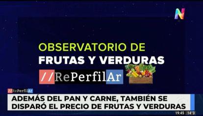 Observatorio de frutas y verduras