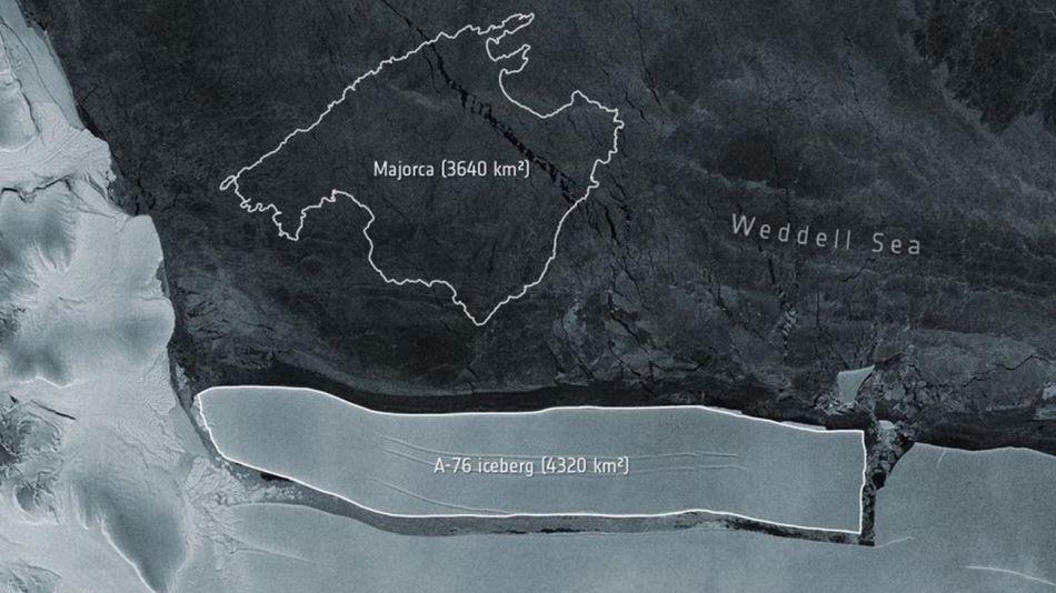 iceberg de la Antartida 20210519