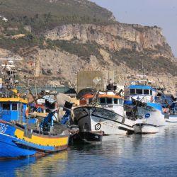Sesimbra sigue siendo una aldea de pescadores. Foto: Manuel Meyer/dpa Credit: Manuel Meyer/dpa