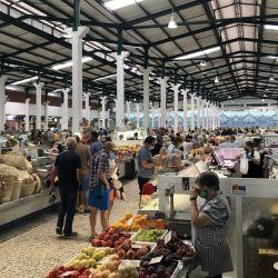 - El Mercado do Livramento en Setúbal es una fiesta para los sentidos. Foto: Manuel Meyer/dpa