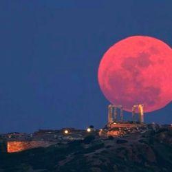 En Argentina la Luna de Sangre empezará a las 8.18.