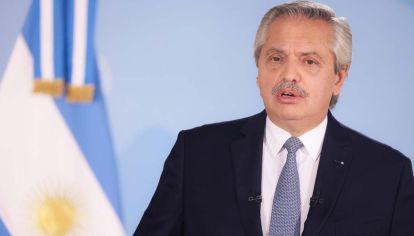 Alberto Fernández anuncia nuevas restricciones.