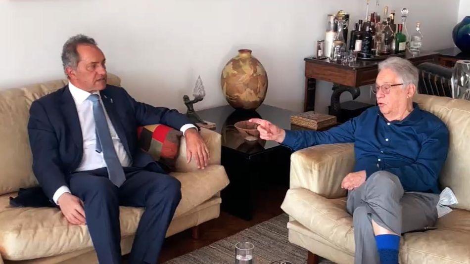 Fernando Henrique Cardozo y Daniel Scioli 20210520