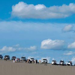 Weekend integró la travesía organizada por Mainumby 4x4, de la que participaron 14 camionetas