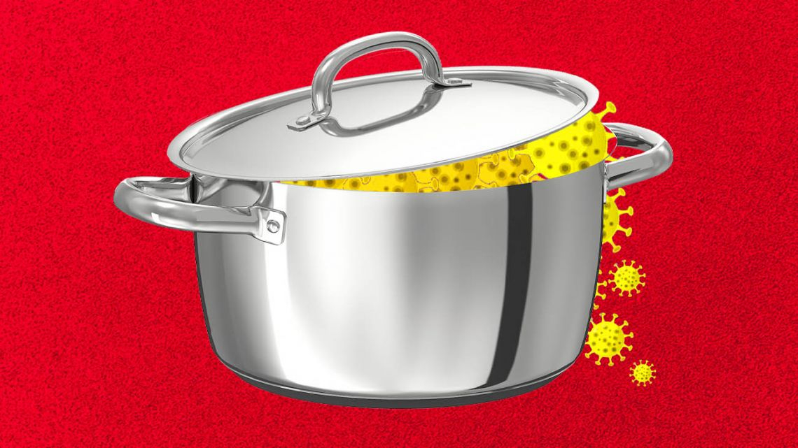 Locking down the pressure cooker