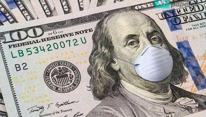 Dólar con barbijo