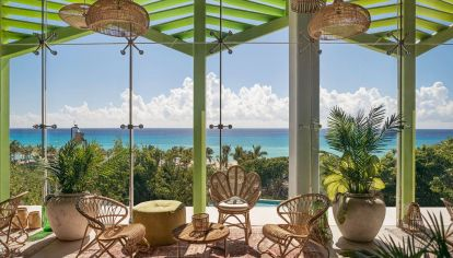 House of Aïa es el nombre de este singular resort sobre la Rivera Maya.