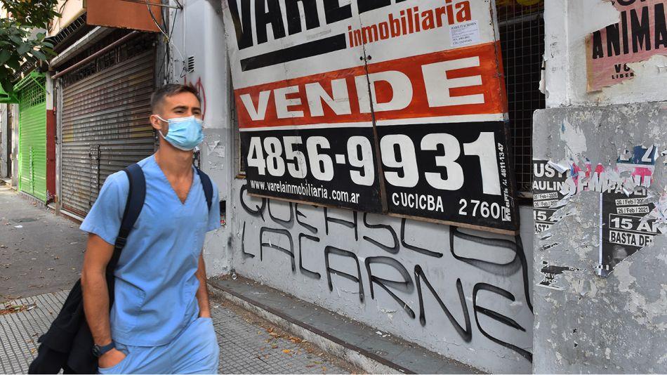Cierre de locales comerciales en la Ciudad de Buenos Aires.