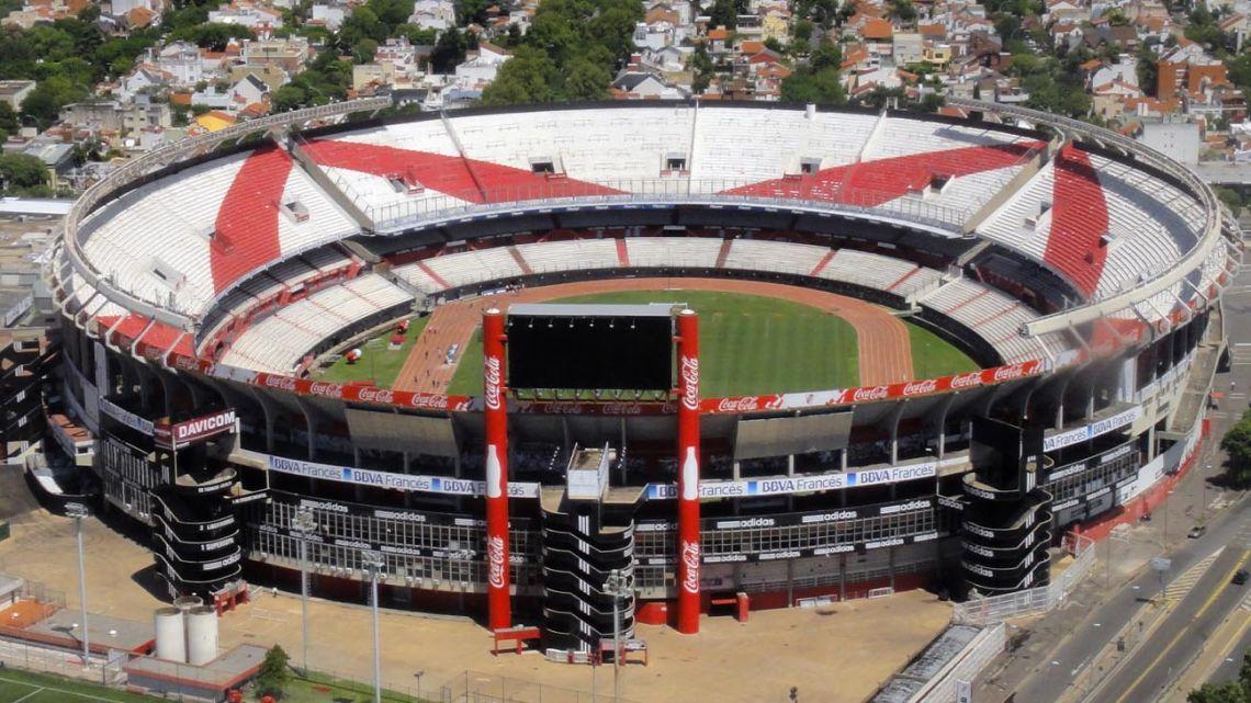 River Plate's stadium, the Monumental.