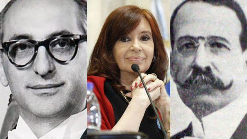 Presidentes CFK Alcorta Frondizi