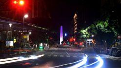 85º aniversario del Obelisco porteño.