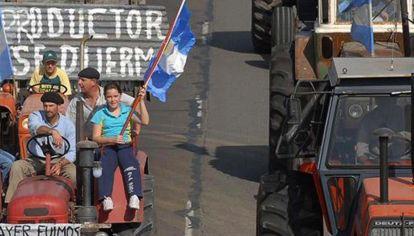 Otra época. Al igual que en el gobierno de CFK, se decidió enfrentarse con el campo.