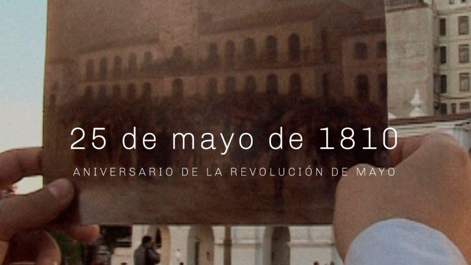 Encuentro presenta Programación especial por el 25 de Mayo