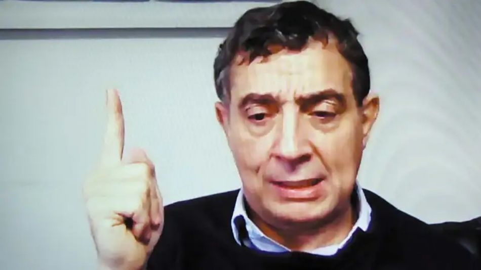 Pepín Rodríguez Simón, en la entrevista con Jorge Fontevecchia.