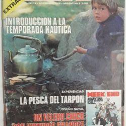 El camping estuvo presente desde las primeras ediciones de revista Weekend.