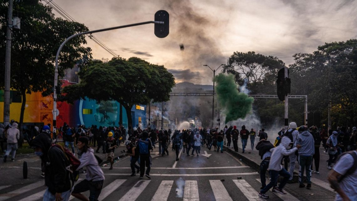 Safe Havens Take Hit in South America as Pandemic Sparks Unrest.