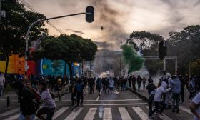 street scene latin america