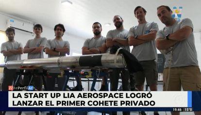Lia Aerospace logró lanzar el primer cohete privado de industria nacional