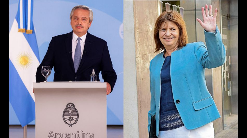 Alberto Fernandez y Patricia Bullrich