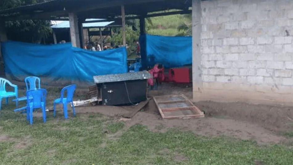 Atentado en Peru
