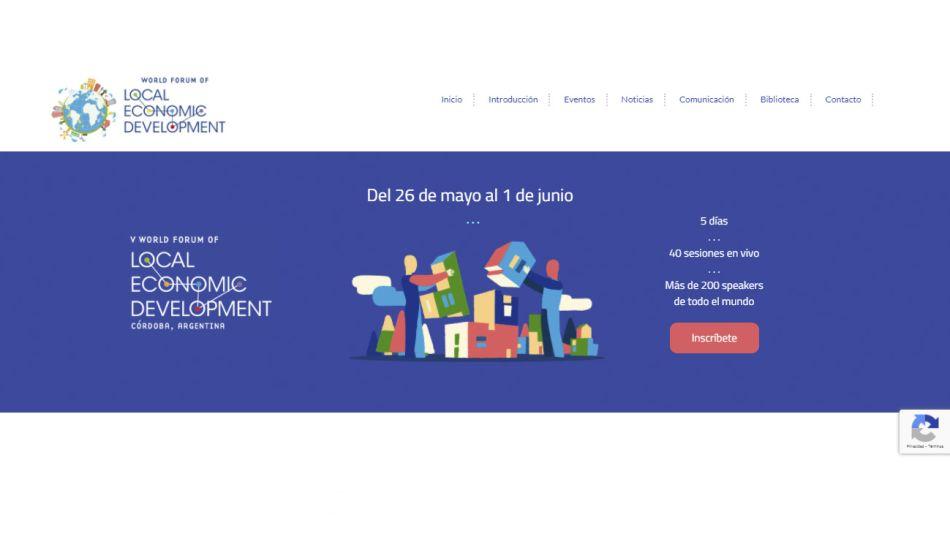 V Foro Económico Mundial para el Desarrollo Local