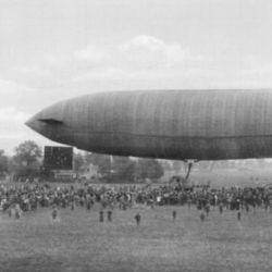 Parseval  fue un pionero en la fabricación y en el diseño de globos dirigidos y atados.