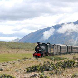 El primer viaje de la Trochita fue el 25 de mayo de 1945.