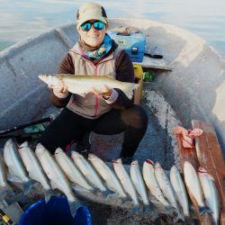 Ante el anunció de las nuevas restricciones una escapada a un espejo ubicado a 354 kilómetros de capital le provocó el desquite esperado a ávidos pescadores.