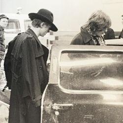 David Bowie y Mick Jagger | Foto:Bob Gruen para The Music Gallery