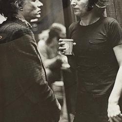 Warhol y Lennon | Foto:Bob Gruen para The Music Gallery