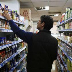 El consumo en supermercados.