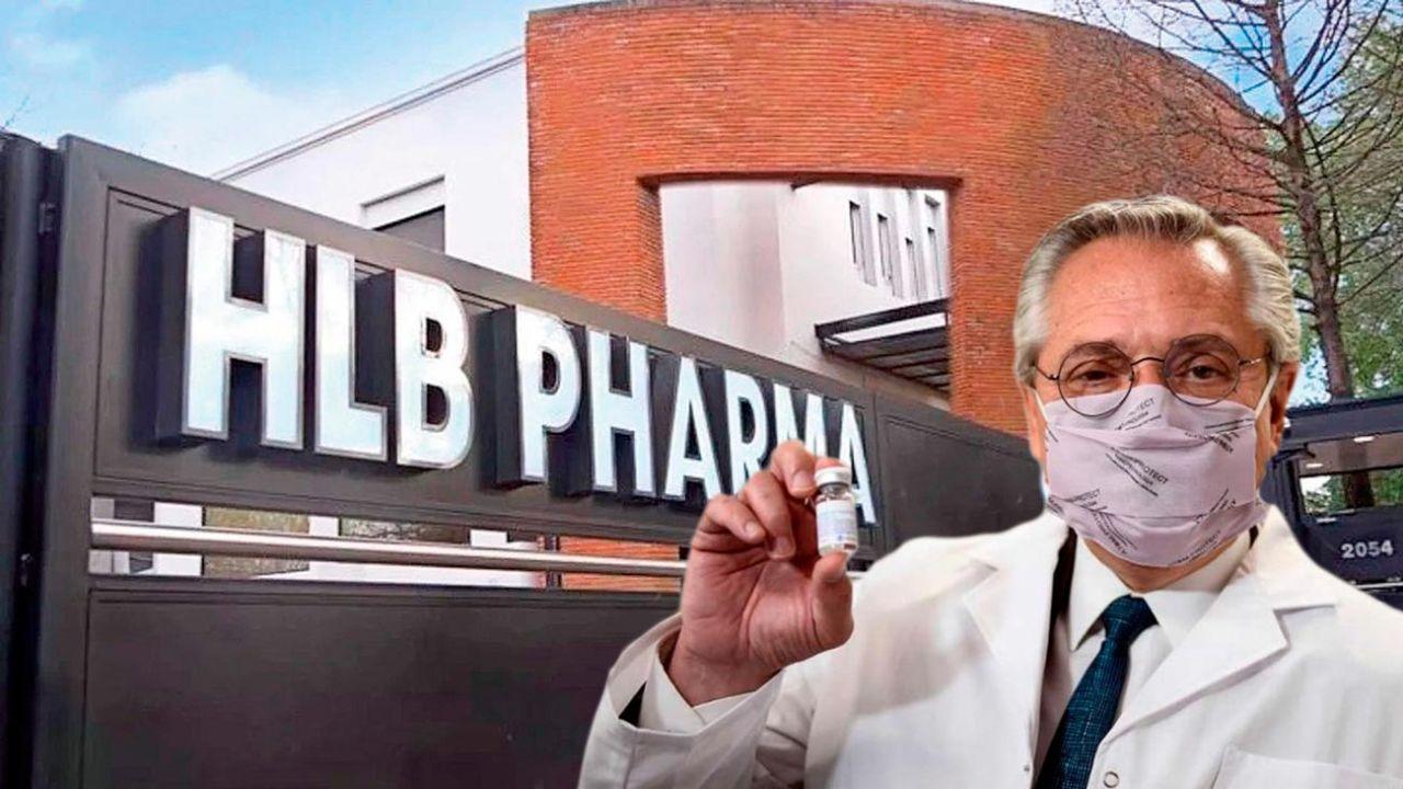 HBL Pharma - Alberto Fernández | Foto:cedoc