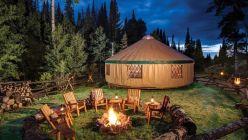 Yurtas: las carpas mongolas llegaron al glamping